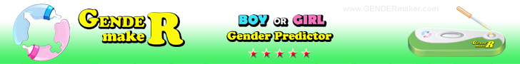 GENDERmaker.com baby gender predictor test